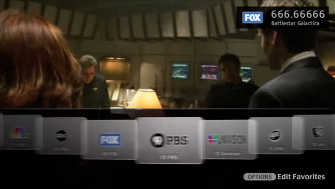 Sony Television Browsing Concept