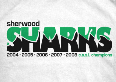 Sherwood Sharks T-Shirts