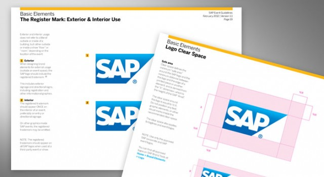 SAP Event Guidelines